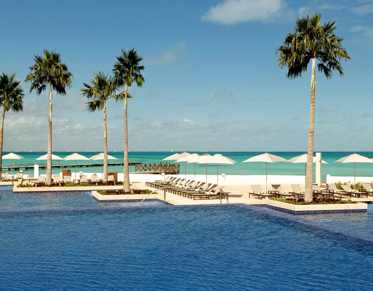 Hyatt Ziva Cancun Infinity Pool