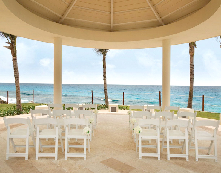 Hyatt Ziva Cancun Beach View Destination Wedding