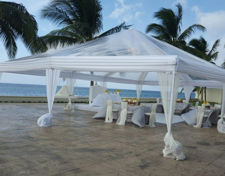 Moon Palace Jamaica Beach Destination Wedding Banquet