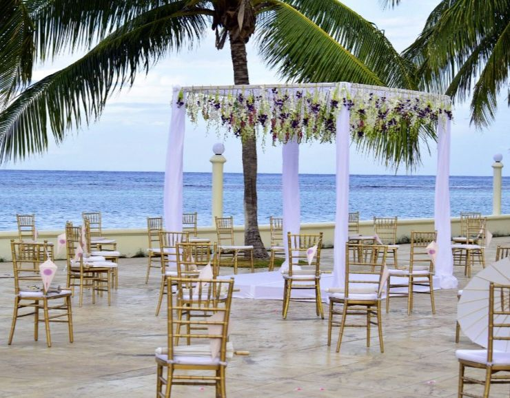 Moon Palace Jamaica Beach Destination Wedding Terrace