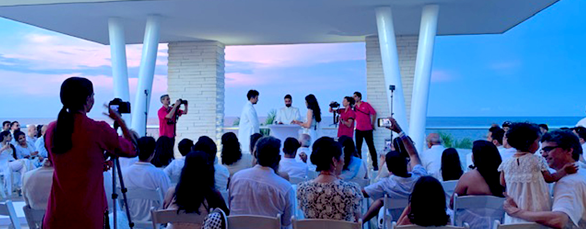 The Grand At Moon Palace Cancun Symbolic ceremony