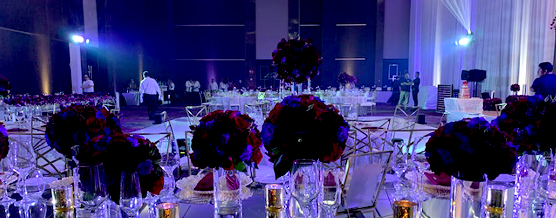 The Grand At Moon Palace Cancun Wedding Reception