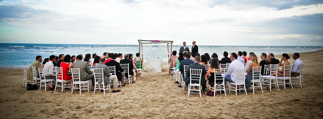 Zoetry Agua Punta Cana Beach View Destination Wedding