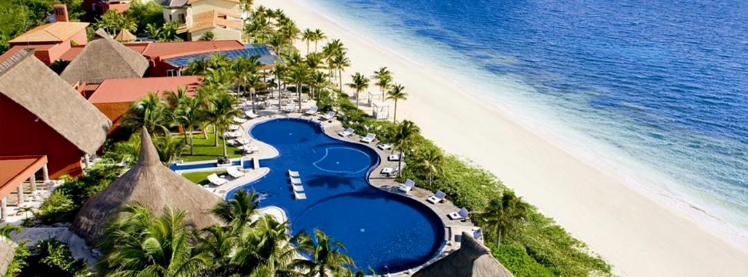 Zoëtry Paraiso de la Bonita Pool & Beach Aerial View