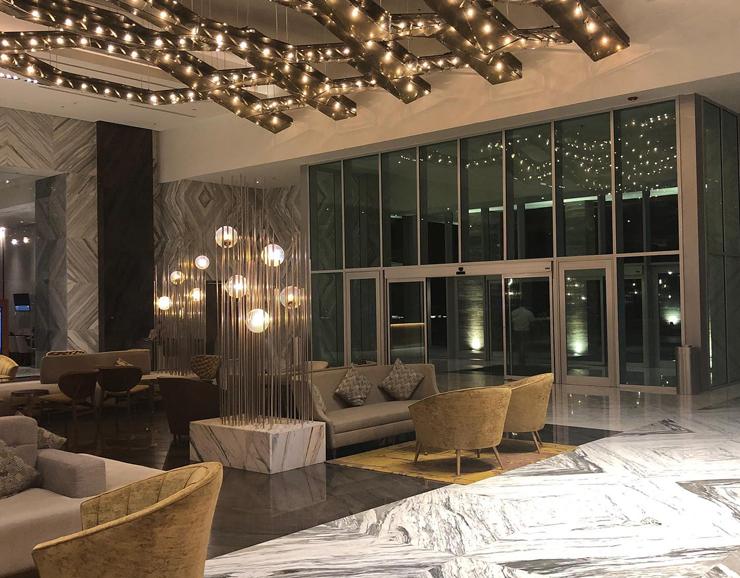Playacar Palace Beach Destination Wedding Lounge