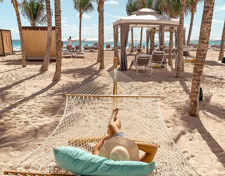 Playacar Palace Beach View Destination Wedding