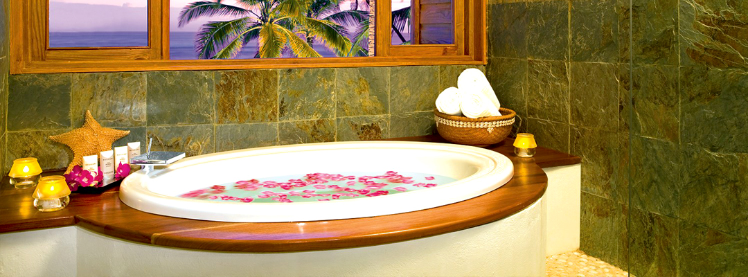 Zoetry Agua Punta Cana Honeymoon Bathtub