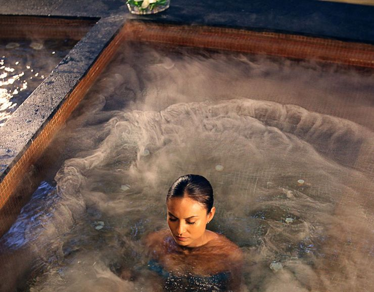 Azul Beach Resort Negril Women in Spa Jacuzzi