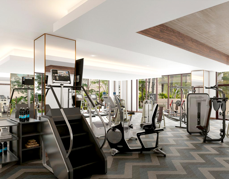 Hard Rock Hotel Multi Purpose Gym