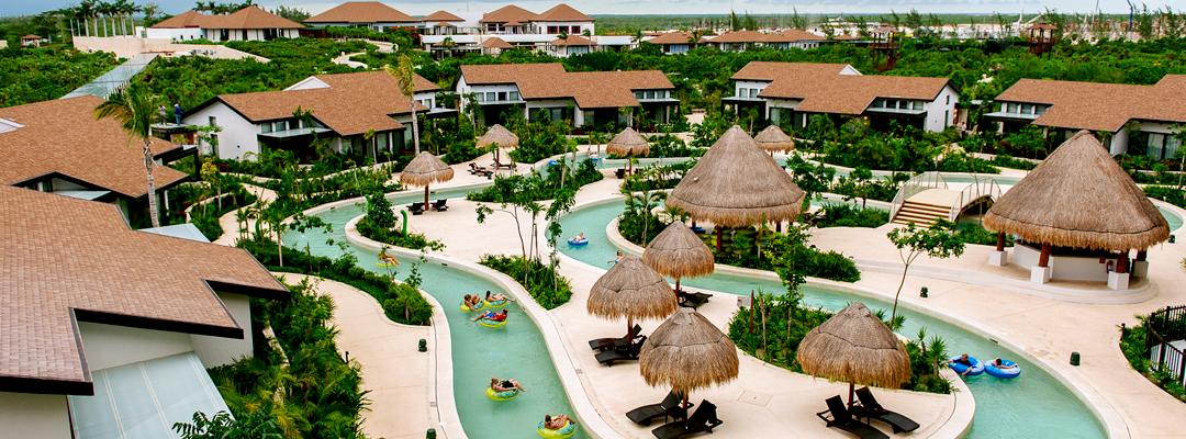 Dreams Playa Mujeres Golf & Spa Resort Pool Ariel View