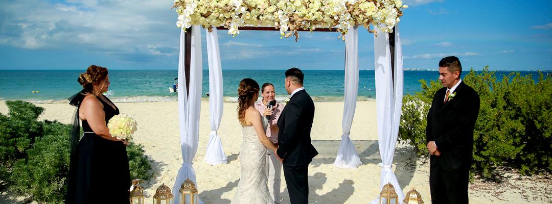 Dreams Playa Mujeres Golf & Spa Resort Beach View Destination Wedding