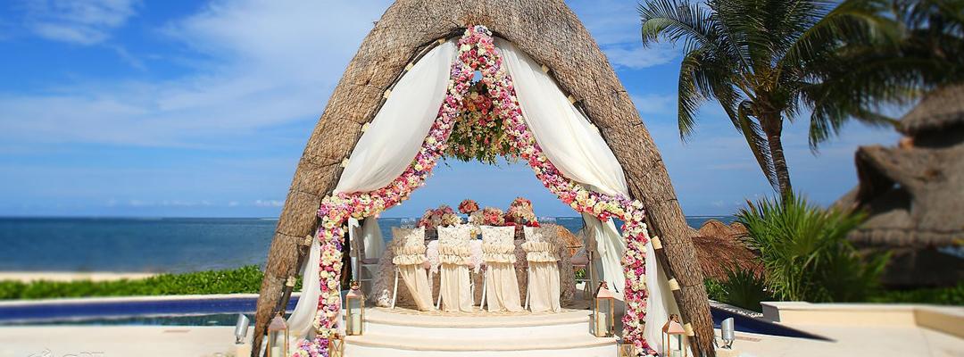 Beach Side wedding Event in Cuncun Dreams Riviera