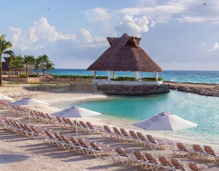 Hard Rock Hotel in Riviera Maya Beach View