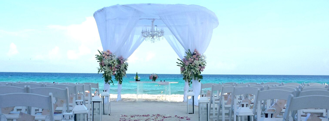 Hard Rock Cuncun Beach View Destination Wedding
