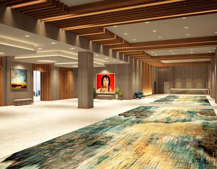 Hard Rock Hotel Hallway
