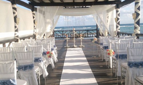 Pier Deck Over Water