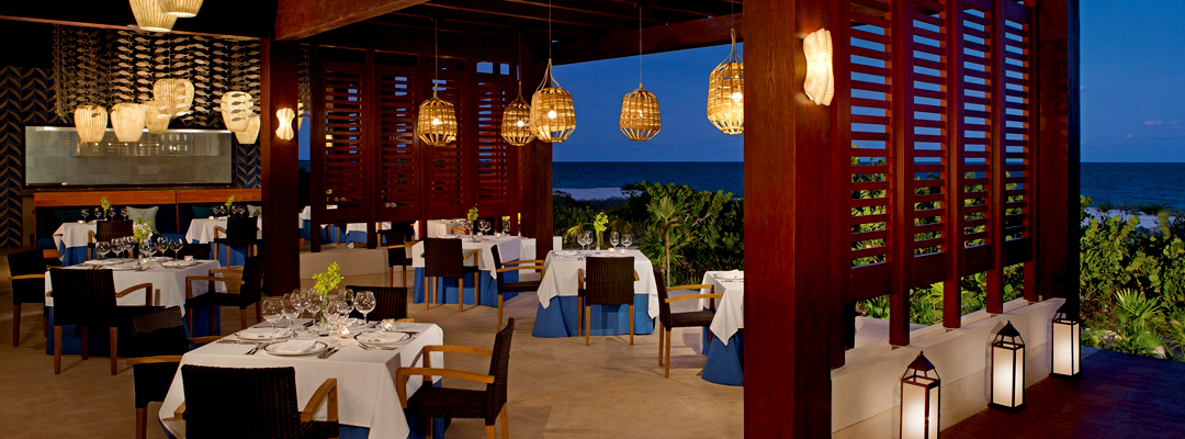 Secrets Playa Mujeres Golf & Spa Resort Beach View Candle Light Dining