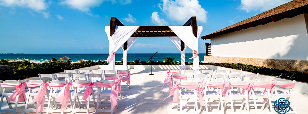 Secrets Playa Mujeres Golf & Spa Resort Beach View Destination Wedding