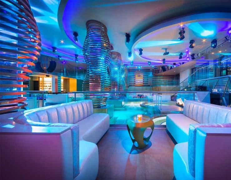 Hard Rock Hotel in Riviera Maya Party Lounge