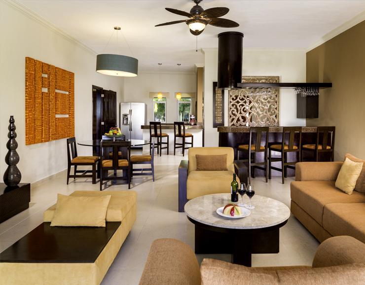 El Dorado Royale Presedentail Suite Living Room