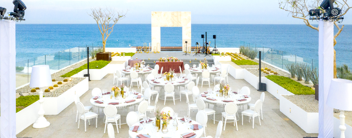 Le Blanc Spa Resort  Beach View Destination Wedding