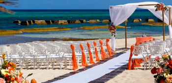 Generations Riviera Maya Beach View Destination Wedding