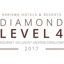 KARISMA HOTELS & RESORTS DIAMOND LEVEL 4 2017