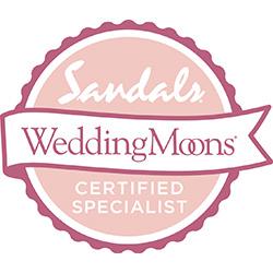 Sandals Wedding Moons CERTIFIED SPECIALIST