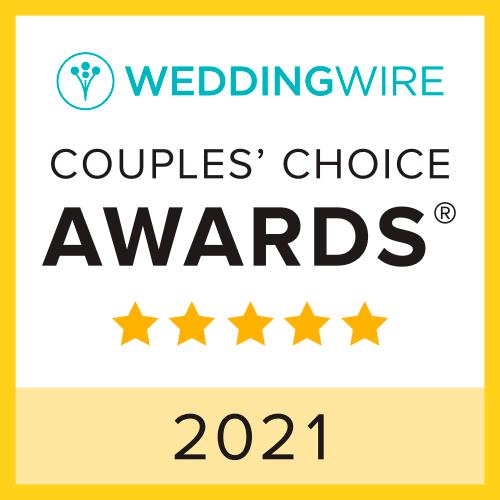 Weddingwire Couple's Choice Awards 2021